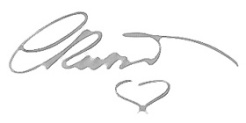 hand signature logo copy