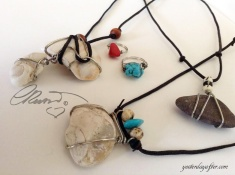 Fossil, Turquoise, Coral