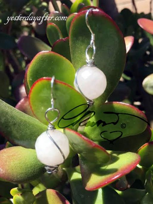 Rose Quartz_earrings