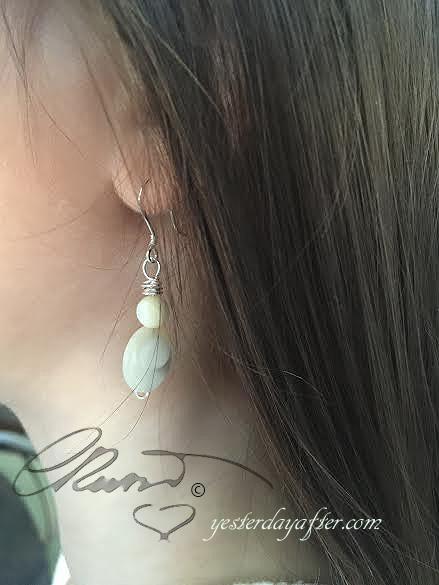 Motherpearl earrings