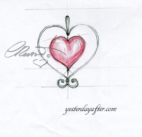 Rose Quartz heart pendant_2a copy