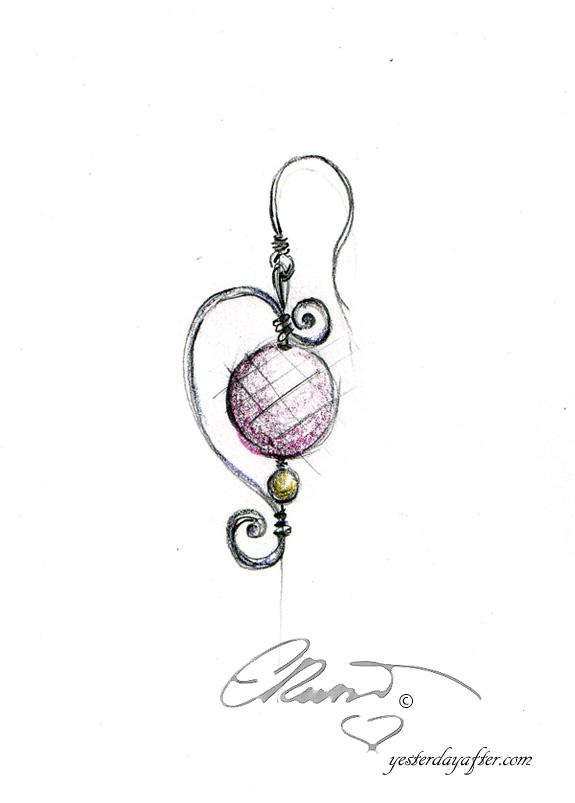 Rose Quartz mpearl earrings2_A