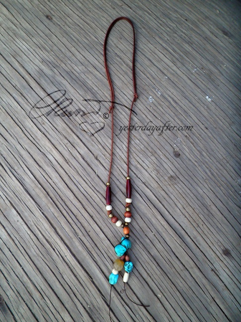 Protective energy talisman necklace