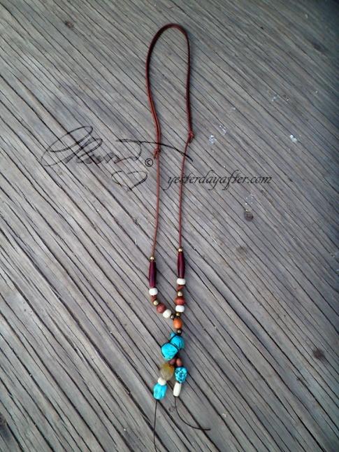 Protective energy talisman necklace