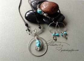 Circle of Life Turquoise 3 pc Set