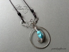 Circle of Life Turquoise Necklace