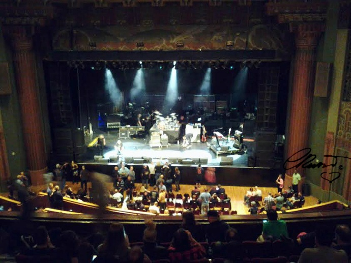 The Wiltern Theatre Stage