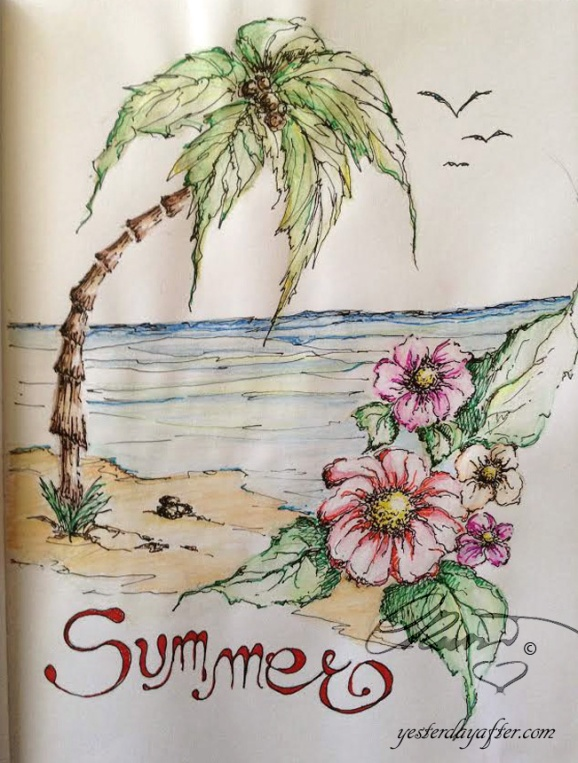 Summer Sketch July 2015