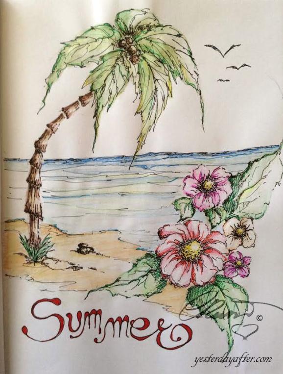 Summer Sketch July 2015