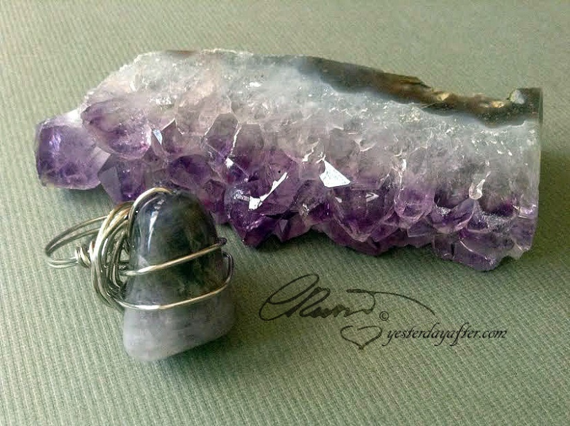 Purple Flame Ring