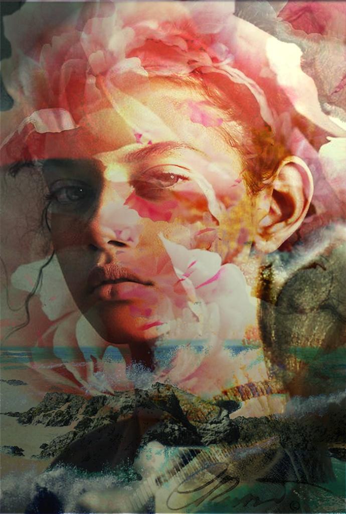 Digital Portrait - When Nature Meet Humans -