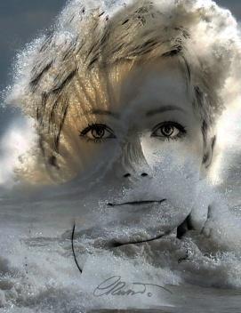 Portrait #3 - Silver Wave
