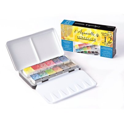 Sennelier Watercolors Travel Box
