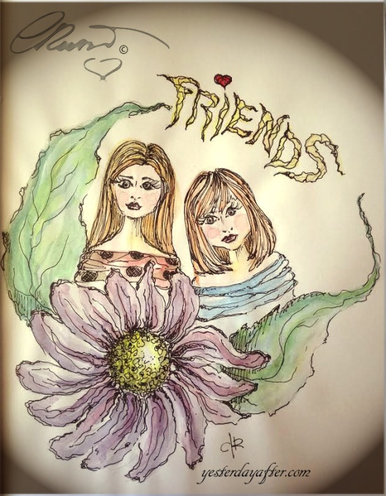 Sketck Book - Friends2a