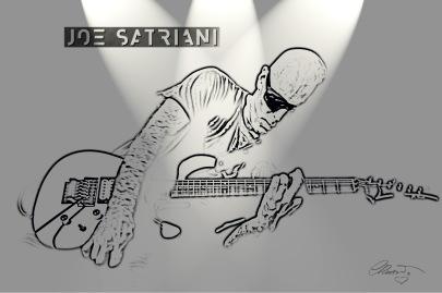 Joe Satriani 2015 Artist Carolina Russo