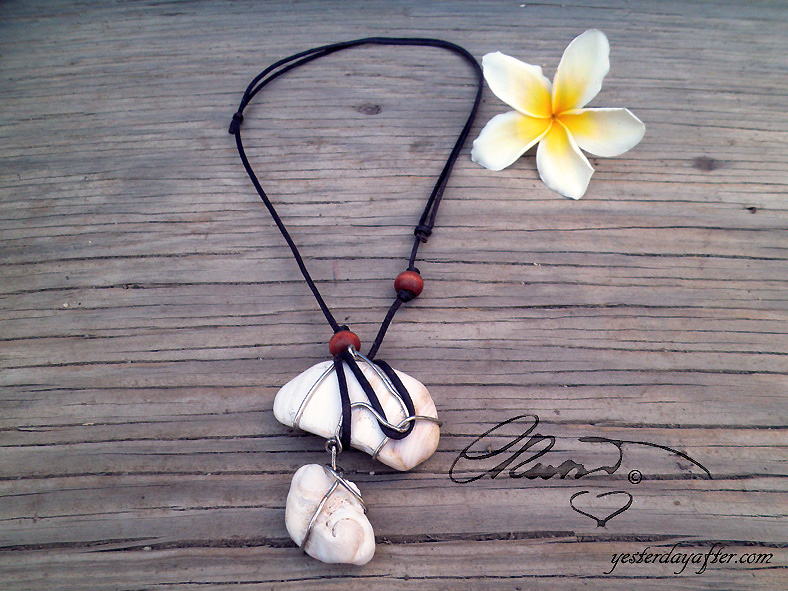 Fossil Seashell Necklace