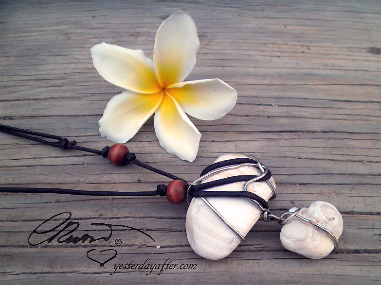 Fossil Seashells Necklace