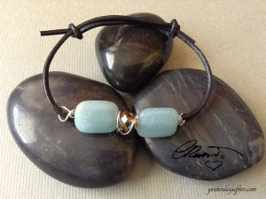 Blue Quartz Bracelet Stackable