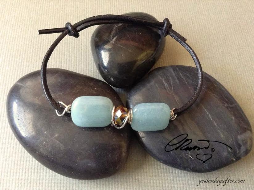 Blue Quartz Bracelet1