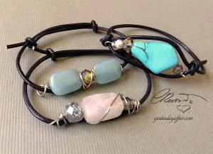 Quartz Stackable Bracelets