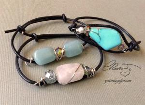 Quartz Stackable Bracelets