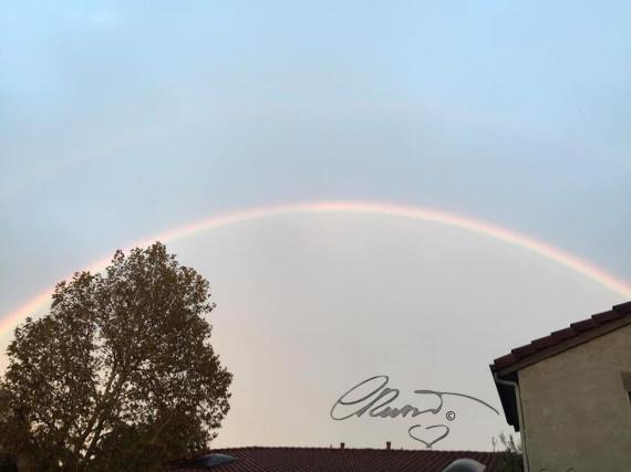 Double Rainbow 11/2/2015