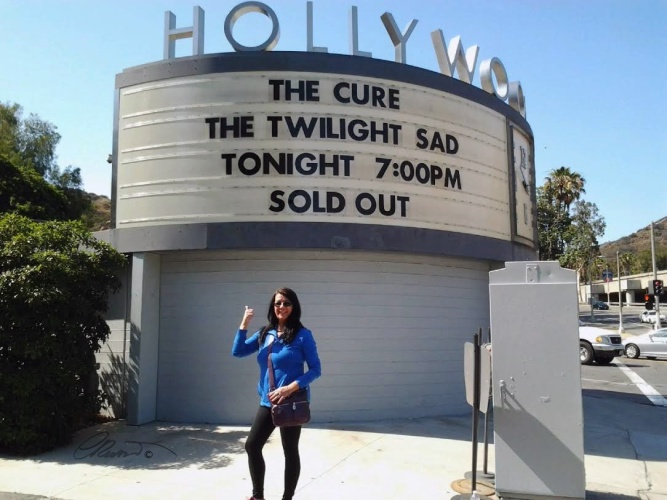 Outside Hollywood Bowl