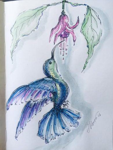 Day #8 - Hummingbird