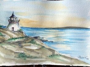 Day #22 - Lighthouse (Rhode Island)