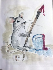 Day #13 - Mouse The Artist