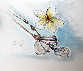 Day #21 - Plumeria and Jewelry