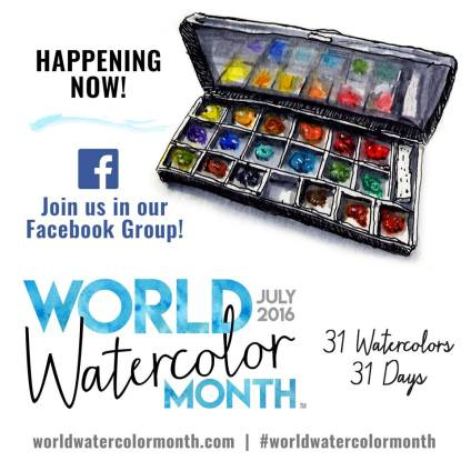 WorldWatercolorMonth