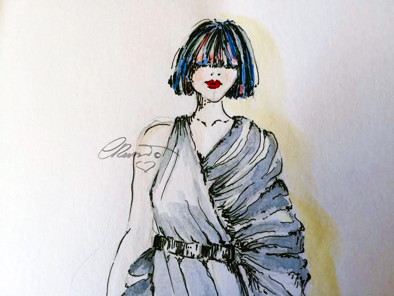 Watercolor Sketch ©Carolina Russo