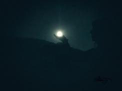Full Super Moon on my hand ©Carolina Russo