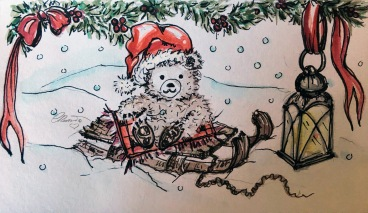 SLED Day 2 - Original Watercolor ©Carolina Russo
