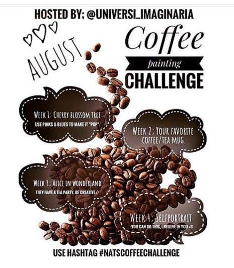 August weekly Coffe Challenge by @UNIVERSI_IMAGINARIA