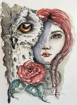 Day #21: Grumpy Owl - Furious