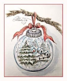 Day 8 - Bright Snow - Bauble