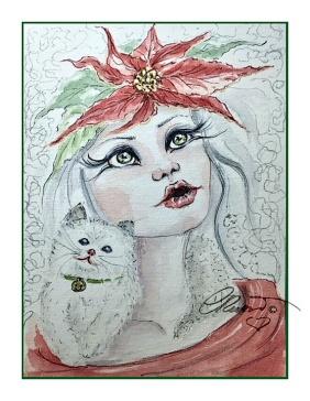 Day #6 - Glitter - Christmas Carol