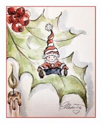 Day # 2 - Santa's Little Helper - Candlestick