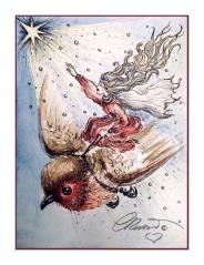 Day #12 - The Shiniest Star - Robin