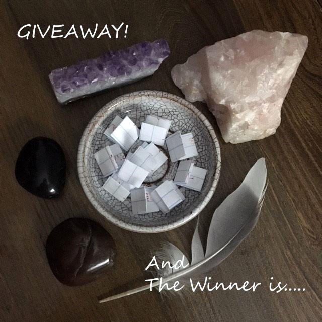 And The Giveaway Winners are….