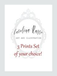 Special 3 Prints Set