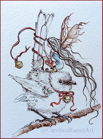 Day 1 - Wren - Jingle Bells ©CarolinaRusso