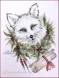 Day 2 - Garland - Letter to Santa ©CarolinaRusso