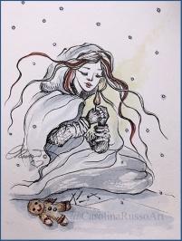 Day 3 - Match Girl -Gingerbread ©CarolinaRusso