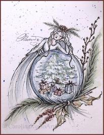 Day 4 - Snow Globe - Presents ©CarolinaRusso
