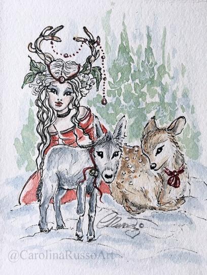 Day 5 - Donkey -Deer ©CarolinaRusso