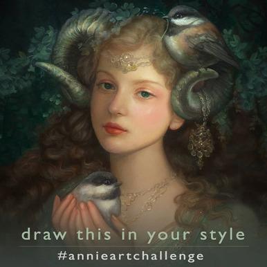 Princess Cordelia - Oil Painting by Artist ©Annie Stegg