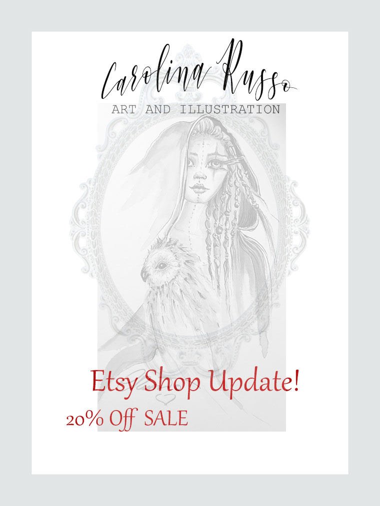 Etsy Shop Update! And 7 Days SALE